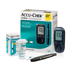 Accu-Chek active เครื่องตรวจวัดระดับน้ำตาล