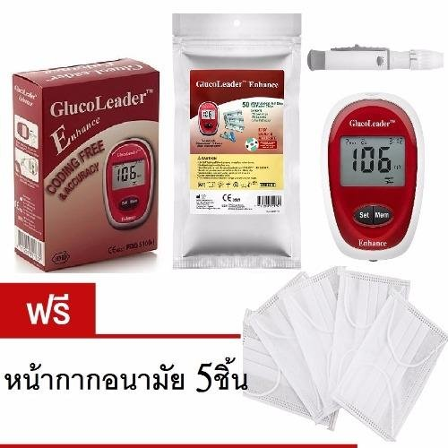 GlucoLeader เครื่องตรวจน้ำตาล