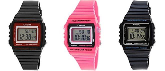 นาฬิกาข้อมือผู้หญิง Casio รุ่น W-215H