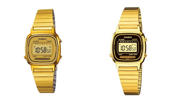 นาฬิกา casio รุ่นLA670WGA