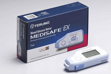 เครื่องตรวจน้ำตาล-Terumo-Medisafe-EX