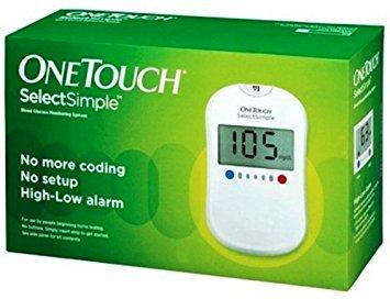 เครื่องตรวจน้ำตาล one-touch-select-simple