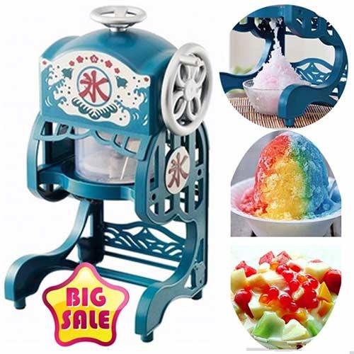 เครื่องทำน้ำแข็งใส-แบบมือหมุน-แบบไฟฟ้า-น้ำแข็งบิงซู-ราคาถูก-ยี่ห้อไหนดี
