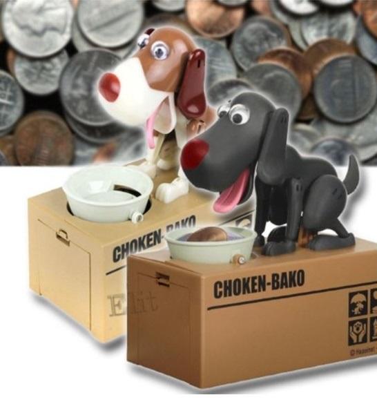 Elit กระปุกออมสินสุนัขกินเหรียญ ของเล่นเสริมพัฒนาการเด็กผู้หญิง