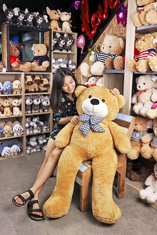 RadaToys ตุ๊กตาหมี ขนาด 1 เมตร (สีน้ำตาล) ผลิตในประเทศไทย