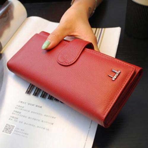 กระเป๋าสตางค์หนังแท้ผู้หญิง-ราคาถูก