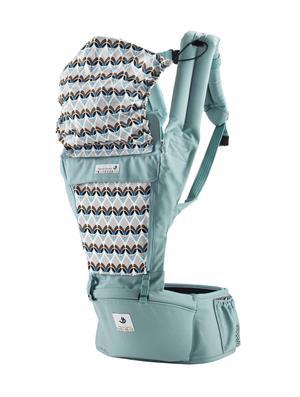 ชุดเป้อุ้มเด็กแบบ Hipseat Orga POGNAE รุ่น 7716 สีฟ้า