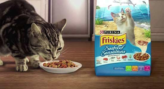 อาหารแมวฟริสกี้