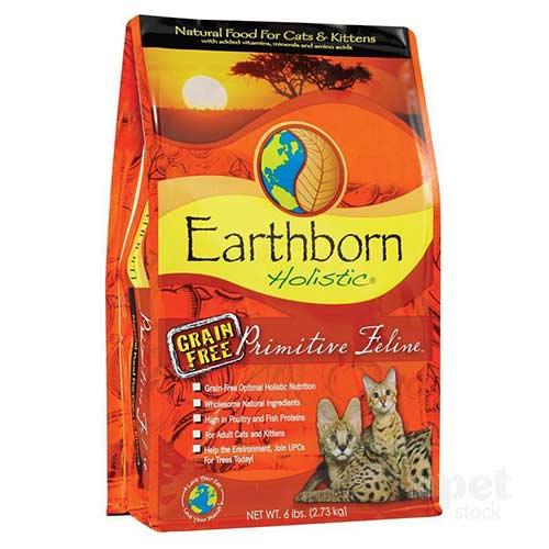 อาหารแมว-Earthborn