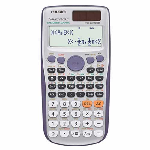 เครื่องคิดเลขวิทยาศาสตร์ casio รุ่นไหนดี