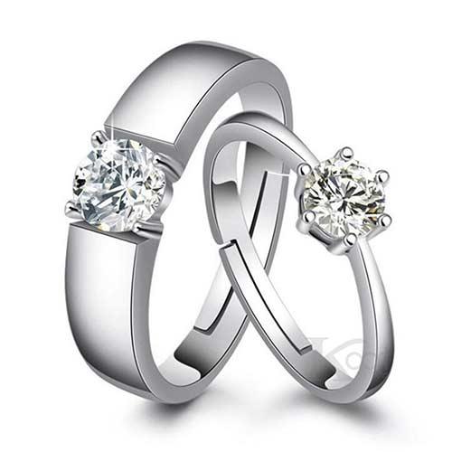 แหวนคู่รัก แหวนเงินแท้ แราคาถูก