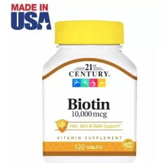 21st Century Biotin 10,000 mcg