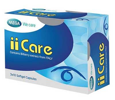 iicare-วิตามินบำรุงสายตา
