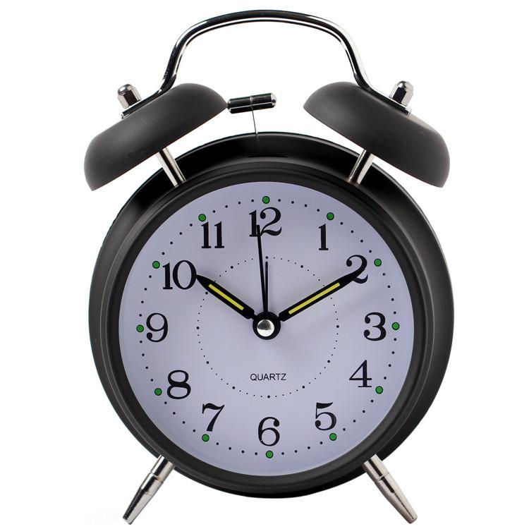 นาฬิกาปลุก นาฬิกาตั้งโต๊ะเสียงกระดิ่ง รุ่น4นิ้ว