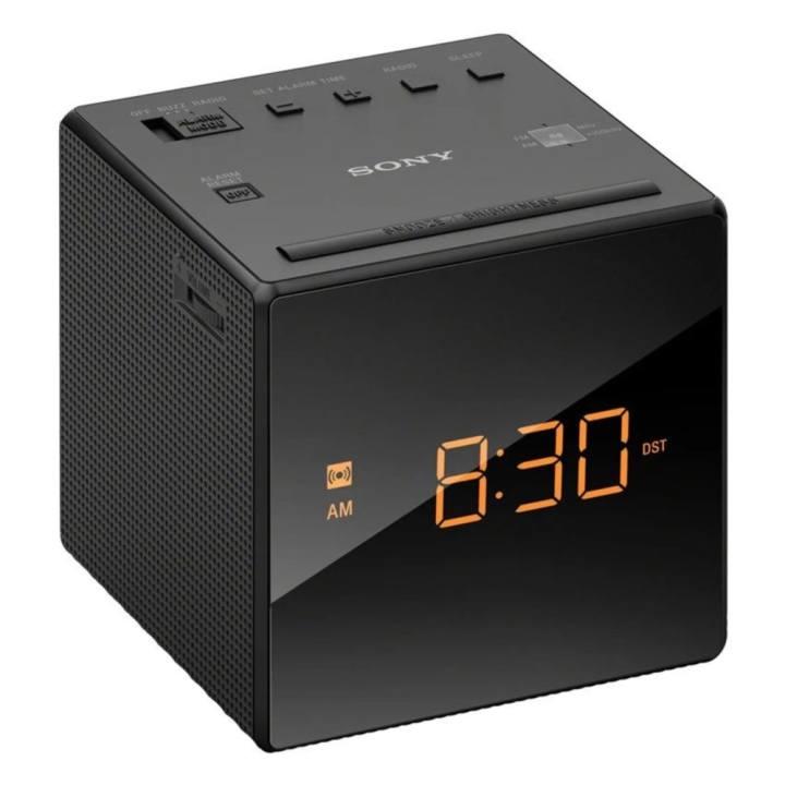 นาฬิกาปลุก Sony มีวิทยุ เล่น AM-FM